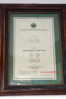 hotel sari ambarawa sebagai hotel bumnga melati dua nurul sufitri