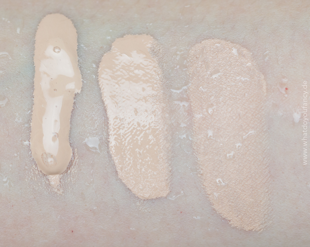 MAC Pro Longwear Nourishing Waterproof Foundation NC15 Eindruck, Swatches und Tragebilder