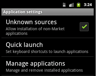 Developer Site: How to download and install  apk from server