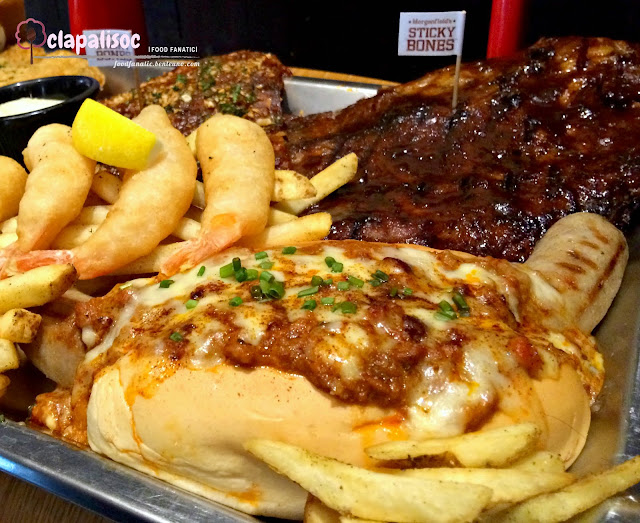 Morganfield's 5th Anniversary Presidential Platter