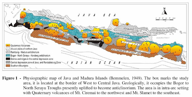 Formasi Geologi Pulau Jawa