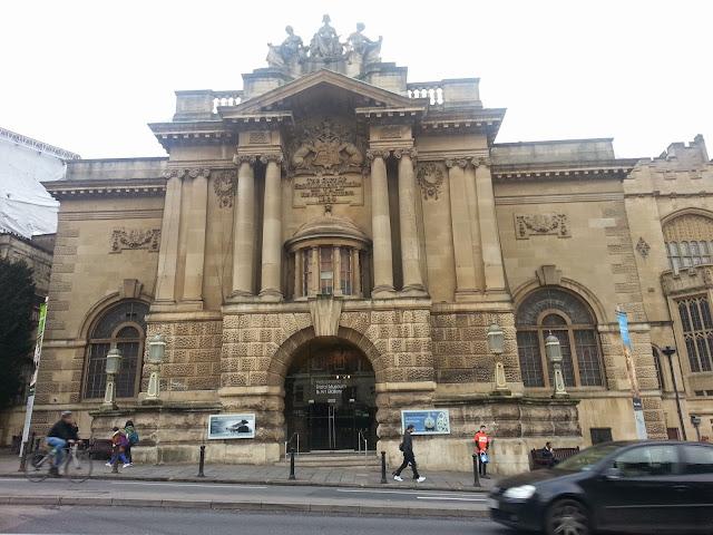 Bristol museum, front aspect