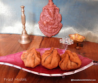 Deep Fried Modak