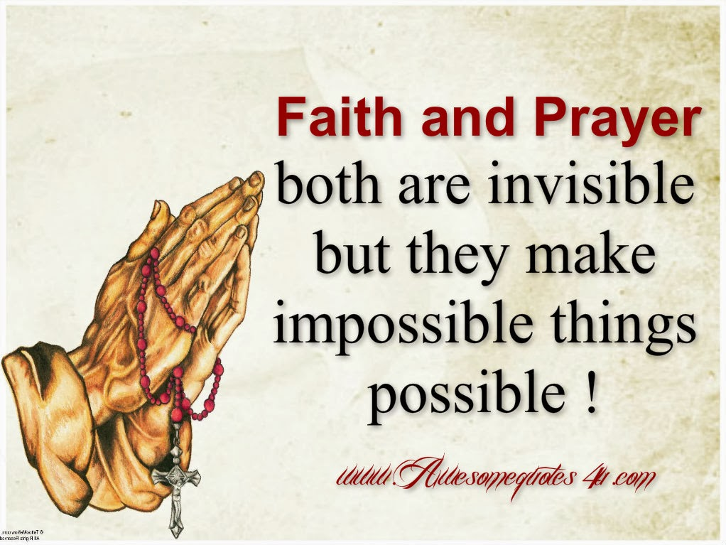 Quotes About Faith And Prayer. QuotesGram