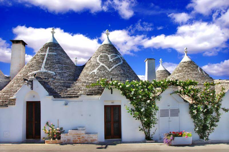 32 Stunning Places on Earth You Should Visit Before You Die - The Trulli, Italy