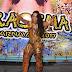 Raíssa Oliveira comemora 15 anos como rainha de bateria da Beija-flor de Nilópolis
