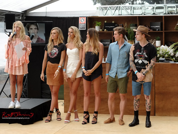 Brand Ambassadors CARISSA WALFORD, Brooke Hogan, Natalie Jayne Roser, ZOE CROSS,THOMAS DAVENPORT, Sam Wines. Windsor Smith Celebrates 70 years at #HarbourLife Sydney 2016. Photographed by Kent Johnson for Street Fashion Sydney.