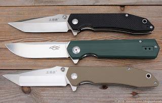Sanrenmu 9001, Ganzo FH11 and Sanrenmu 9002