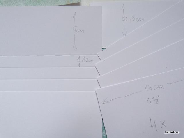 ilość przygotowanych kartek jest taka sama jak ilość bigowań