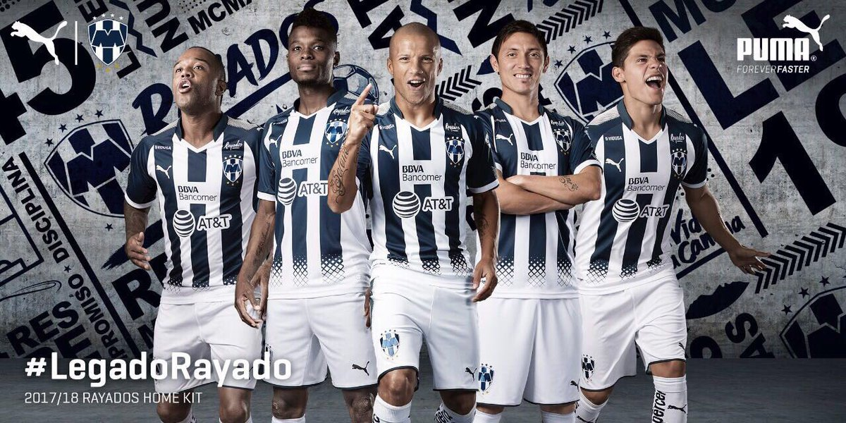 3ba45eed4 The new Rayados Monterrey 2017-2018 home jersey has been released yesterday  night