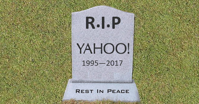 GoodBye Yahoo!, Akhir dari perintis era awal internet
