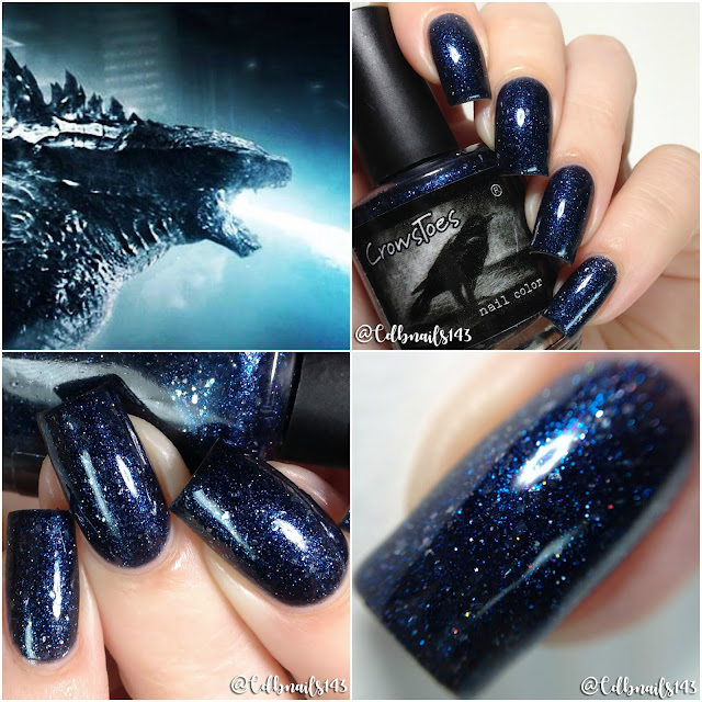CrowsToes Nail Color-....Need A Light?!