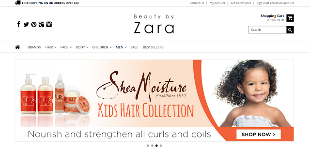 Shea Moisture Available at Beauty By Zara