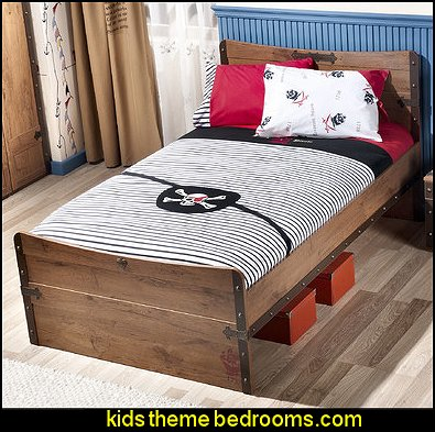 Pirate 4 Piece Toddler Duvet Set