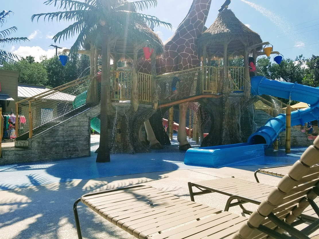 safari splash play structure