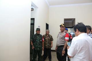 Kapolda Sumut dan Pangdam I/BB Tinjau Lokasi Pelaksanaan Resepsi Pasangan Putri Jokowi