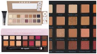 Lorac Pro Palette 3, ABH Modern Renaissance Palette, Violet Voss Holy Grail Palette