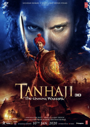 Tanhaji: The Unsung Warrior 2020 Full Hindi Movie Download Hd In DVDScr