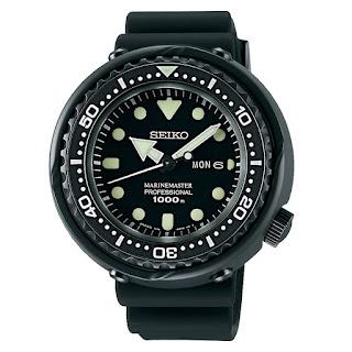Seiko Prospex SBBN025 Darth Tuna Marinemaster Professional 300M Divers Quartz