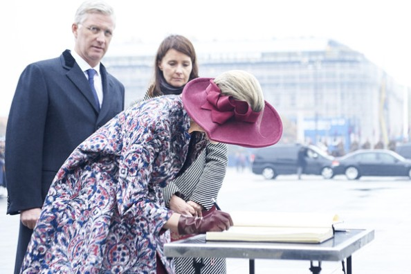 Queen Mathilde And King Philippe Visit Poland