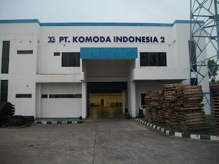 Loker Operator Produksi Pria PT Komoda Indonesia
