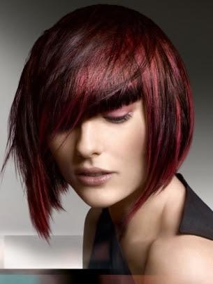 Sencillo y bonito peinados escalados Fotos de consejos de color de pelo - Peinados a la Moda: Cortes Bob Lacios para fiestas