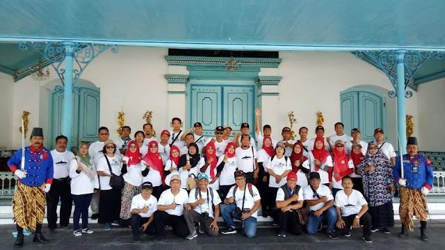 Kwarcab Gunungkidul Adakan Wajib Kunjung Situs ke Keraton Surakarta