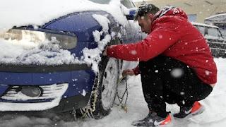Προβλήματα από τις χιονοπτώσεις στο ορεινό οδικό δίκτυο, Αρκαδίας, Κορινθίας, Μεσσηνία