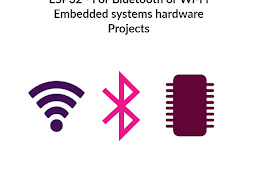 ESP32 - For Bluetooth or Wi-Fi Embedded systems hardware Projects