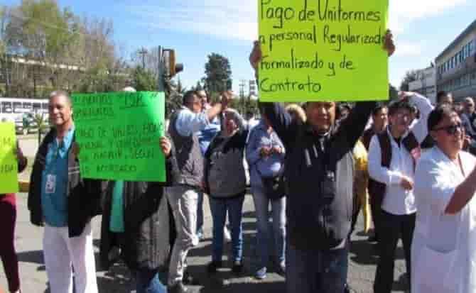Medicamentos, trabajadores, demandas