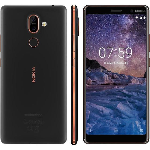 سعر جوال Nokia 7 Plus فى عروض الجوالات من مكتبة جرير