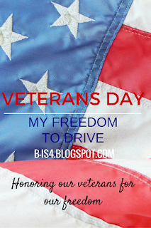 Veteran's Day: My Freedom to Drive