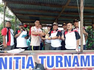 Turnamen Bupati Cup Sekadau Resmi Di tutup, Sanherib FC  Desa Peniti Juara Satu Bupati Cup 2017