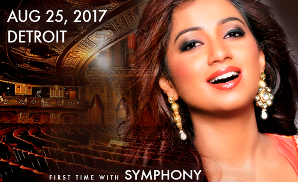 Shreya Ghoshal Live Concert Tour 2017