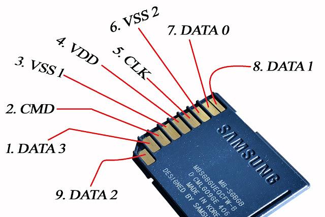 SD card Terminals