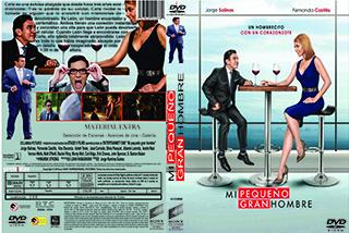 Mi pequeño gran hombre - Cover - DVD