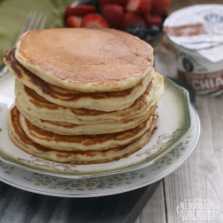 Yogurt Chia Pancakes