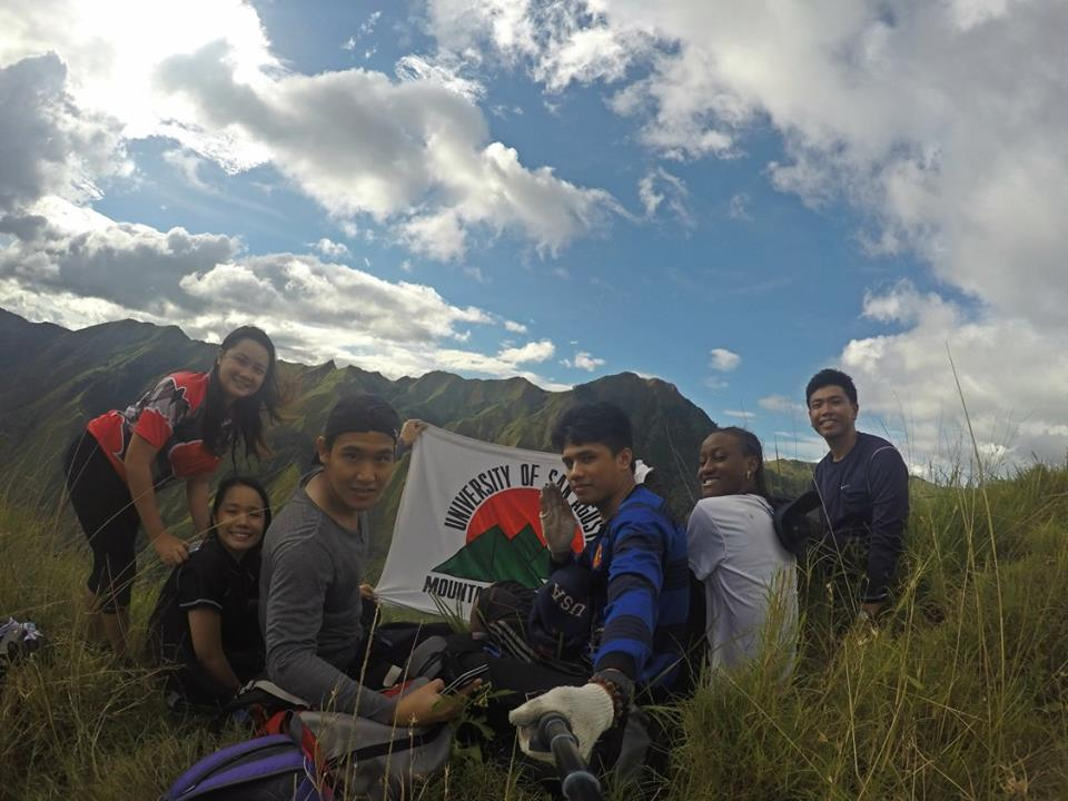 Young mountaineers conquer Panay's legendary peaks University of San Agustin Mountaineering Society, USAM, Mountain, Mountaineering, Iloilo, Mount Manaphag, University of San Agustin, Hiking, Mount Napulak, Matthew Quidato, Mary Francille Igtanloc, Advocacy,