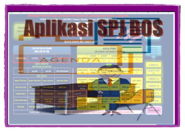 Download Aplikasi SPJ BOS 2017/2018 - Lembar Kerja Guru