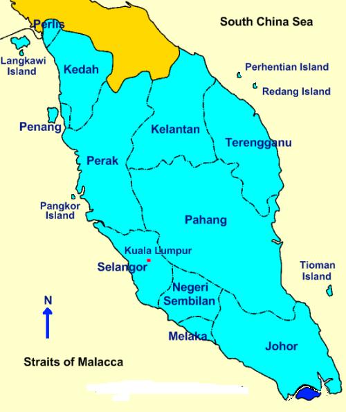 Peninsular Malaysia: Tourism Malaysia