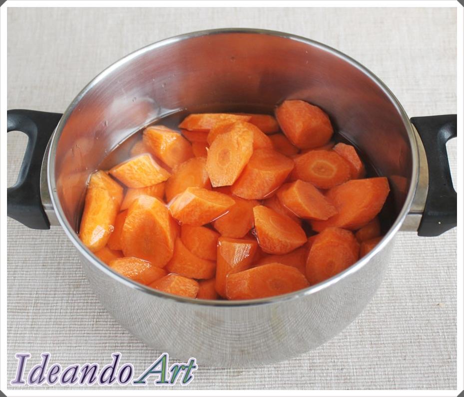 Zanahorias para cocer