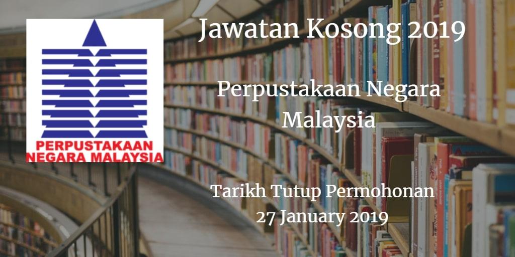 Jawatan Kosong PNM 27 January 2019