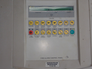 Fire Alarm Control Panel Unit
