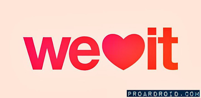 تطبيق We Heart It v7.9.1 نسخة خالية من الاعلانات للأندرويد مجاناً logo
