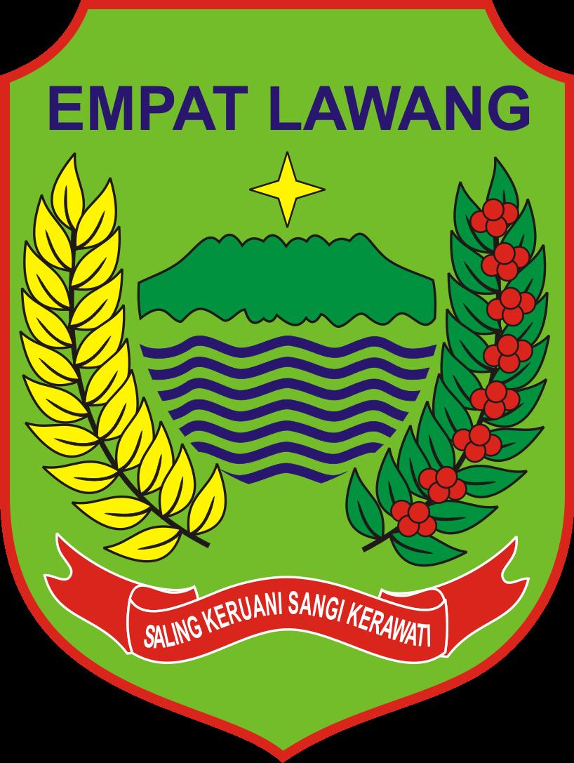 Logo Kabupaten Empat Lawang Logo Lambang Indonesia
