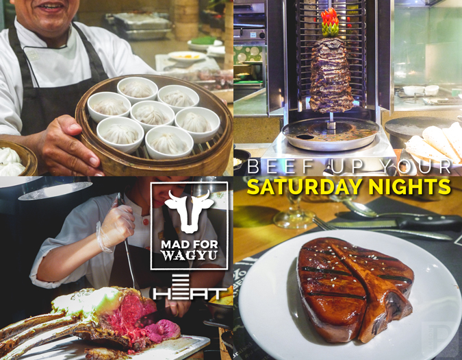 Beef Up Your Saturday Nights with Heat's Mad for Wagyu Buffet!