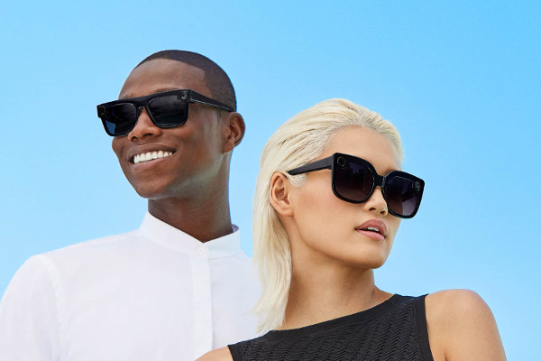 Snap debuts Nico and Veronica spectacles with polarized lenses