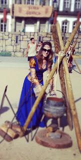 Vestido Medieval Feira Franca 1