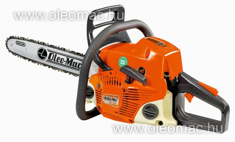 Oleo-Mac GS 350 benzinmotoros láncfűrész