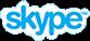 Skype botão button contacto microsoft